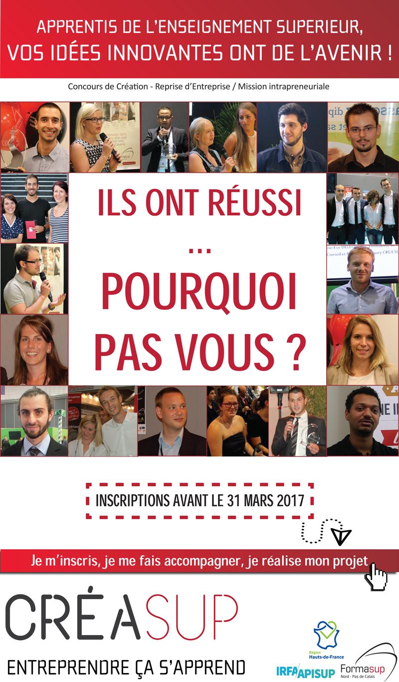 Concours créasup 2017